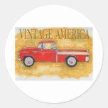 Vintage América Adesivos