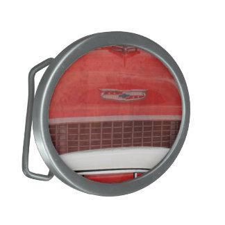 Vintage branco vermelho de Dodge do Bel Air