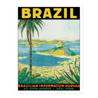 Vintage Brasil Cartão Postal