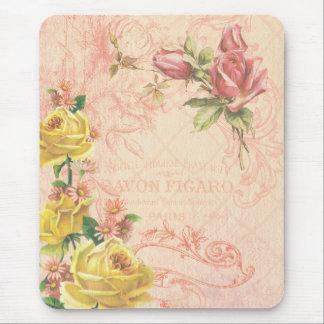 Vintage chique Mousepad floral