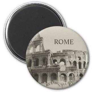 Vintage Colosseum - Roma dos gladiadores Ímã Redondo 5.08cm