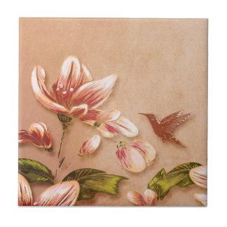 Vintage cor-de-rosa das azáleas floral no