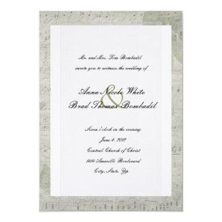 Vintage cor-de-rosa e convite do casamento da
