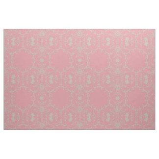 Vintage cor-de-rosa tecido