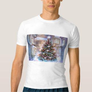 Vintage da árvore de Natal Camiseta