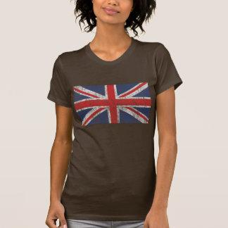 Vintage da bandeira de união camiseta