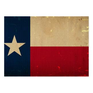 VINTAGE da bandeira do estado de Texas Modelos Cartão De Visita