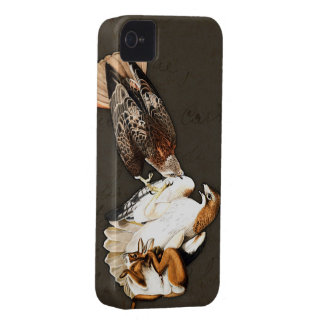 Vintage da caça dos falcões capinhas iPhone 4
