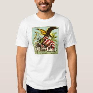 Vintage da etiqueta do tabaco de mastigação de t-shirts