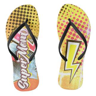 VINTAGE da mamã dos chinelos das sandálias da