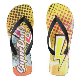 VINTAGE das sandálias da praia do presente do dia