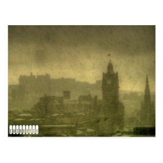Vintage de Edimburgo do cartão