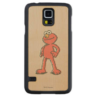 Vintage de Elmo Case Slim De Bordo Para Galaxy S5