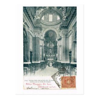 Vintage di Pompeia de Italia, Valle, 1901 Cartoes Postais