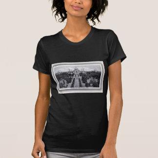 Vintage do 1920 de Taj Mahal India Tshirts