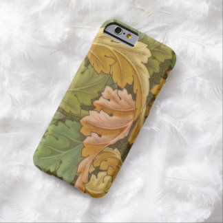Vintage do Acanthus de William Morris floral Capa Barely There Para iPhone 6