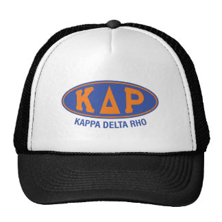 Vintage do ró | do delta do Kappa Boné
