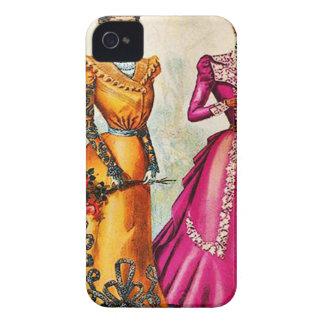 VINTAGE ELEGANTE 92 DAS SENHORAS CAPINHA iPhone 4