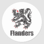 Vintage Flanders Adesivo