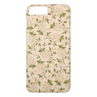 Vintage floral capa iPhone 7 plus