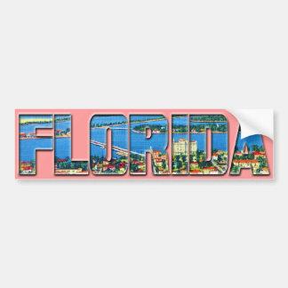 Vintage Florida Adesivo Para Carro