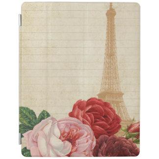 Vintage France - capa de ipad da torre Eiffel