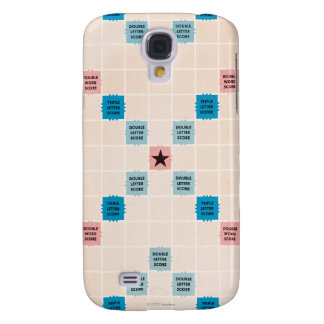 Vintage Gameboard do Scrabble Galaxy S4 Cover