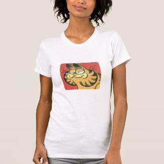 Vintage Garfield, a camisa das mulheres Tshirt