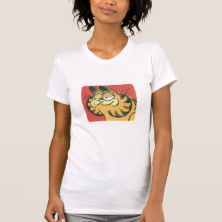 Vintage Garfield, a camisa das mulheres Camisetas