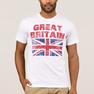 Vintage Grâ Bretanha Camiseta