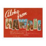 Vintage Havaí Cartao Postal