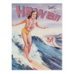 Vintage Havaí, EUA - Cartao Postal