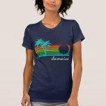 Vintage Jamaica - design afligido Camiseta