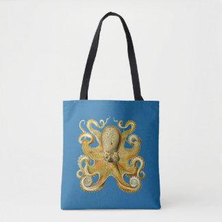 Vintage Kraken, polvo Gamochonia, Ernst Haeckel Bolsa Tote