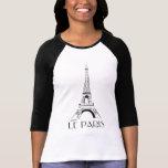 vintage le Paris Camiseta