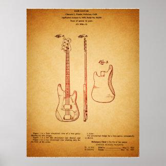 Vintage legal que olha a patente famosa da pôster