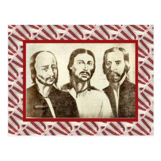 Vintage líderes da revolução 1774 cartoes postais