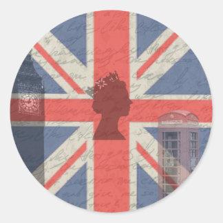 Vintage Londres Adesivo