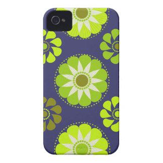 Vintage Marie de flower power #3 @ Capa Para iPhone 4 Case-Mate