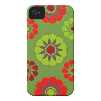 Vintage Marie de flower power #7 @ Capa Para iPhone 4 Case-Mate