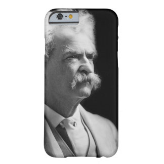 Vintage Mark Twain icónico preto e branco Capa Barely There Para iPhone 6