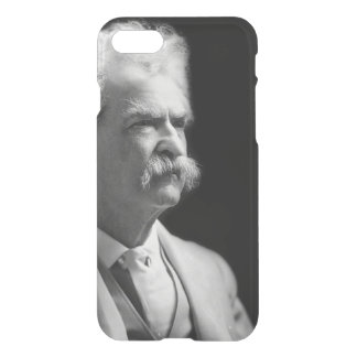 Vintage Mark Twain icónico preto e branco Capa iPhone 8/7