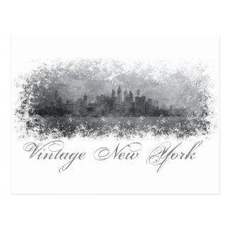 Vintage New York Cartão Postal