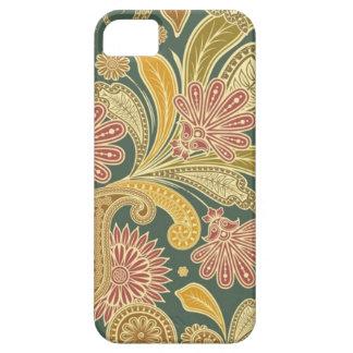 Vintage Paisley e capa de telefone floral Capas Para iPhone 5