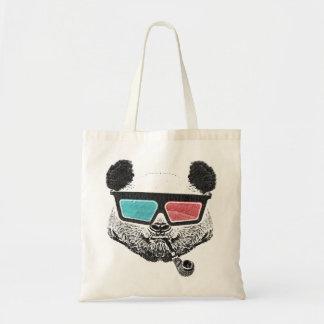 Vintage panda 3-D glasses Bolsa Para Compra