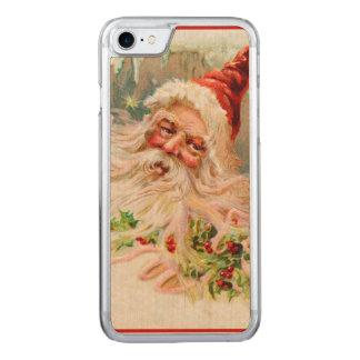 Vintage Papai Noel Capa iPhone 7 Carved
