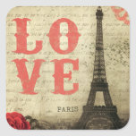Vintage Paris Adesivos