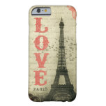 Vintage Paris Capa Barely There Para iPhone 6