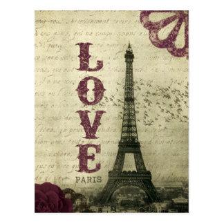 Vintage Paris Cartão Postal