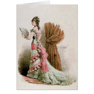 Vintage Paris France da pintura do cartão do ~ da